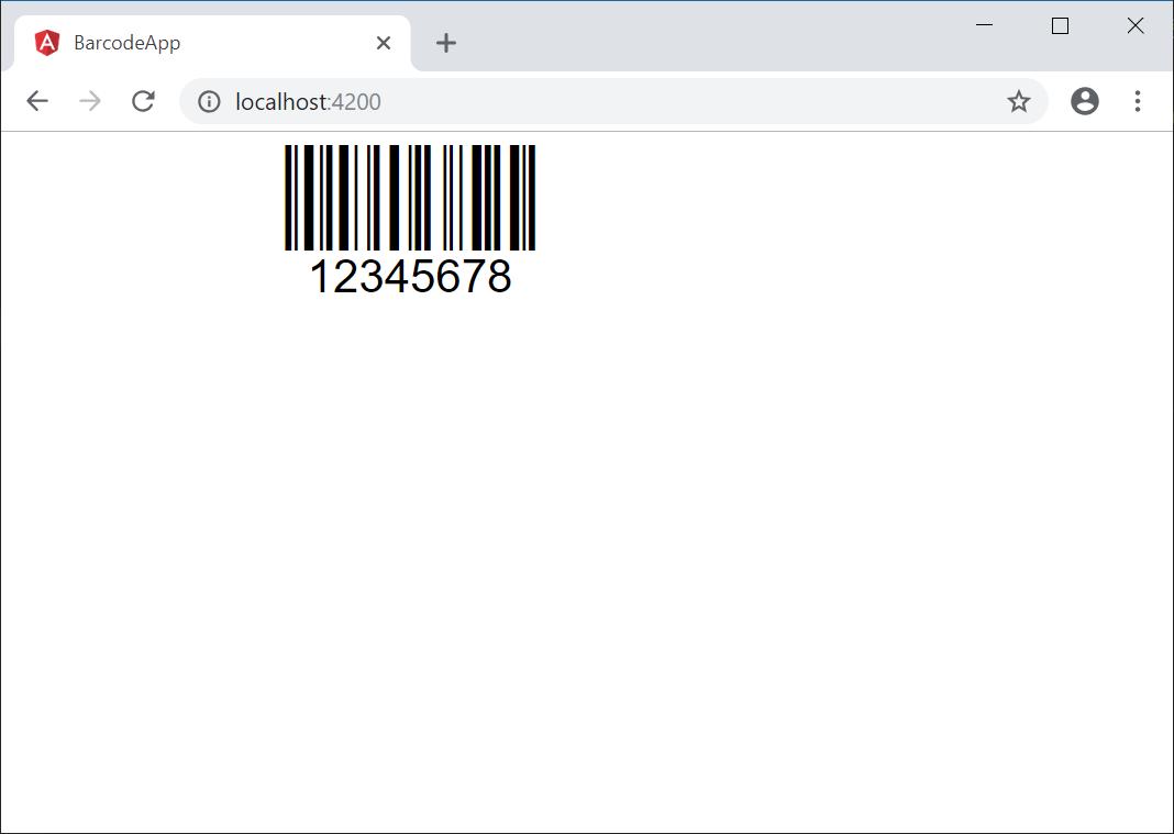 Angular (AngularJS) Barcode