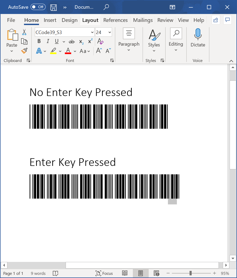 download code 39 barcode generator excel
