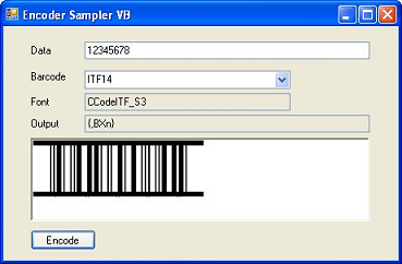 Barcode Fonts DLL Integration with VB  NET