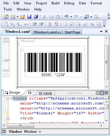 WPF Barcode Control, WPF Barcode SDK