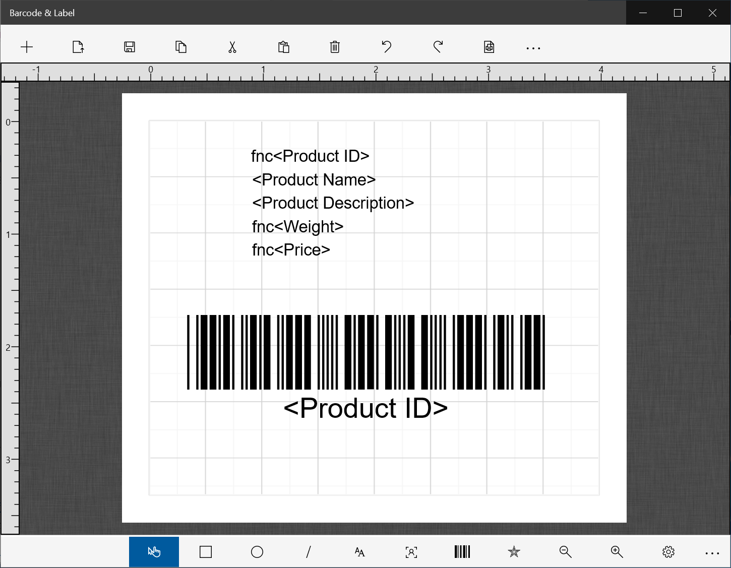 Barcode & Label - Windows Store App