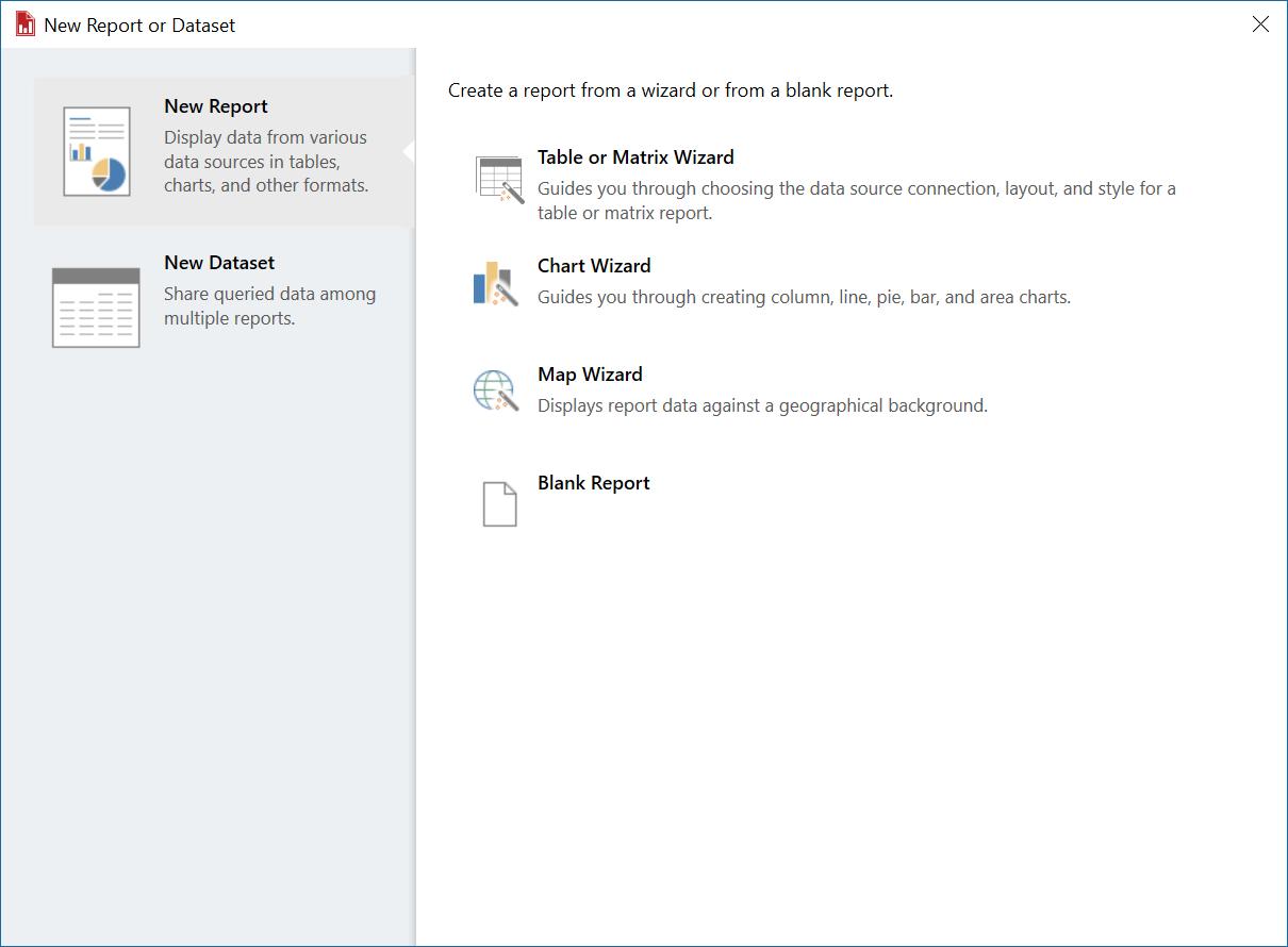 SQL Server Report Builder